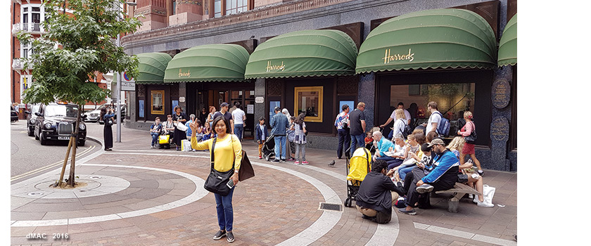 5-Shinta Harrods Knightsbridge